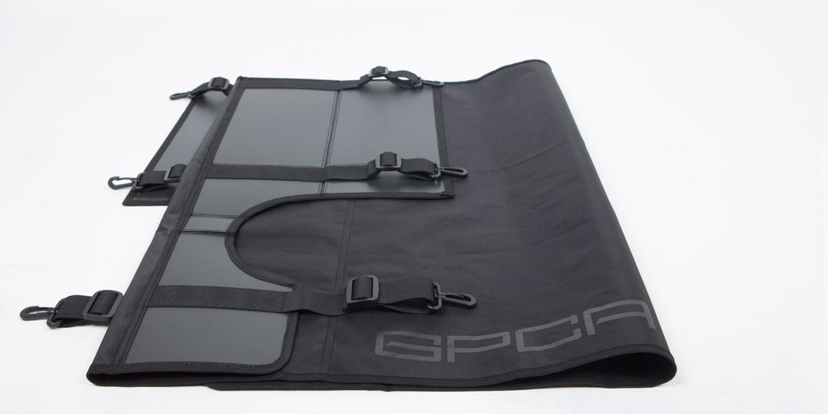 Jeep Wrangler trunk cargo cover
