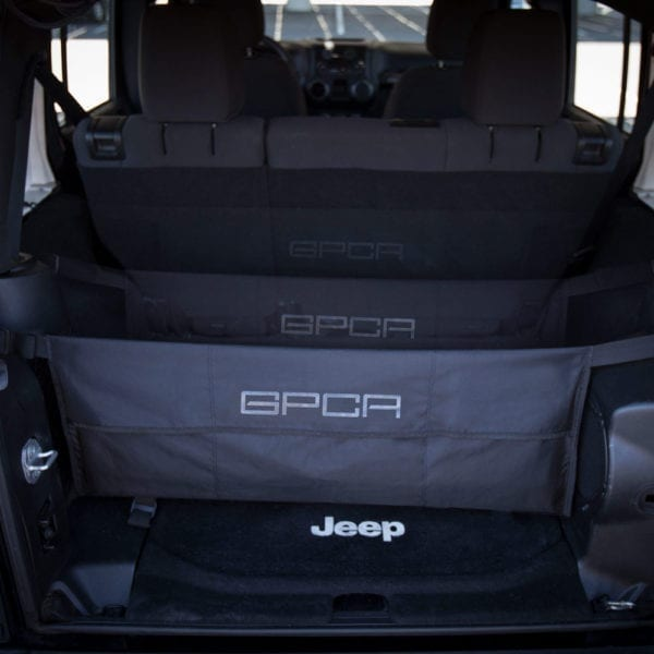 GPCA Jeep cargo organizer all configurations