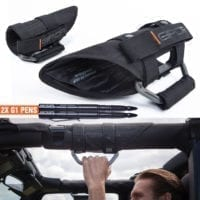 GPCA GP-Grip Jeep Metal Handles plus pen