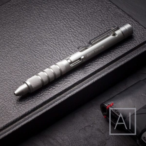 GP 1945 Aluminum Bolt Action Pen Silver