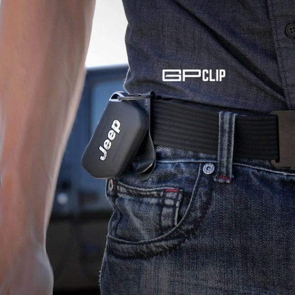 GPCA Jeep keychain money belt clip