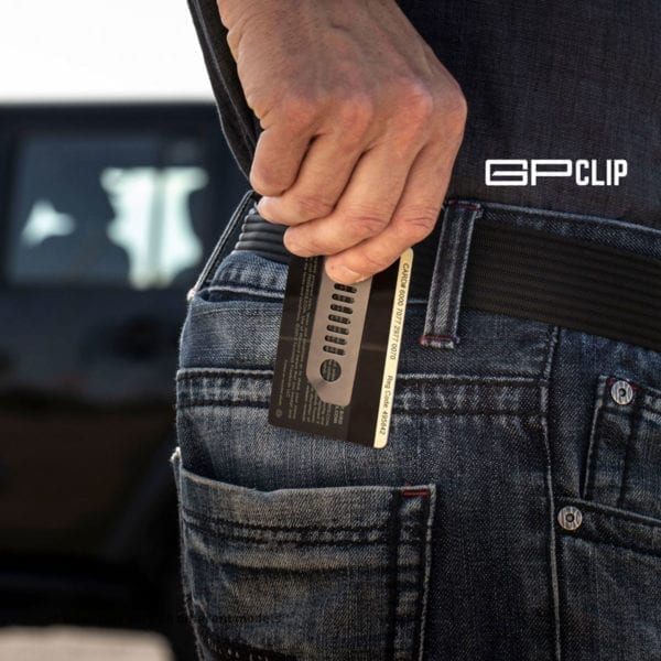 GPCA Jeep key chain money clip