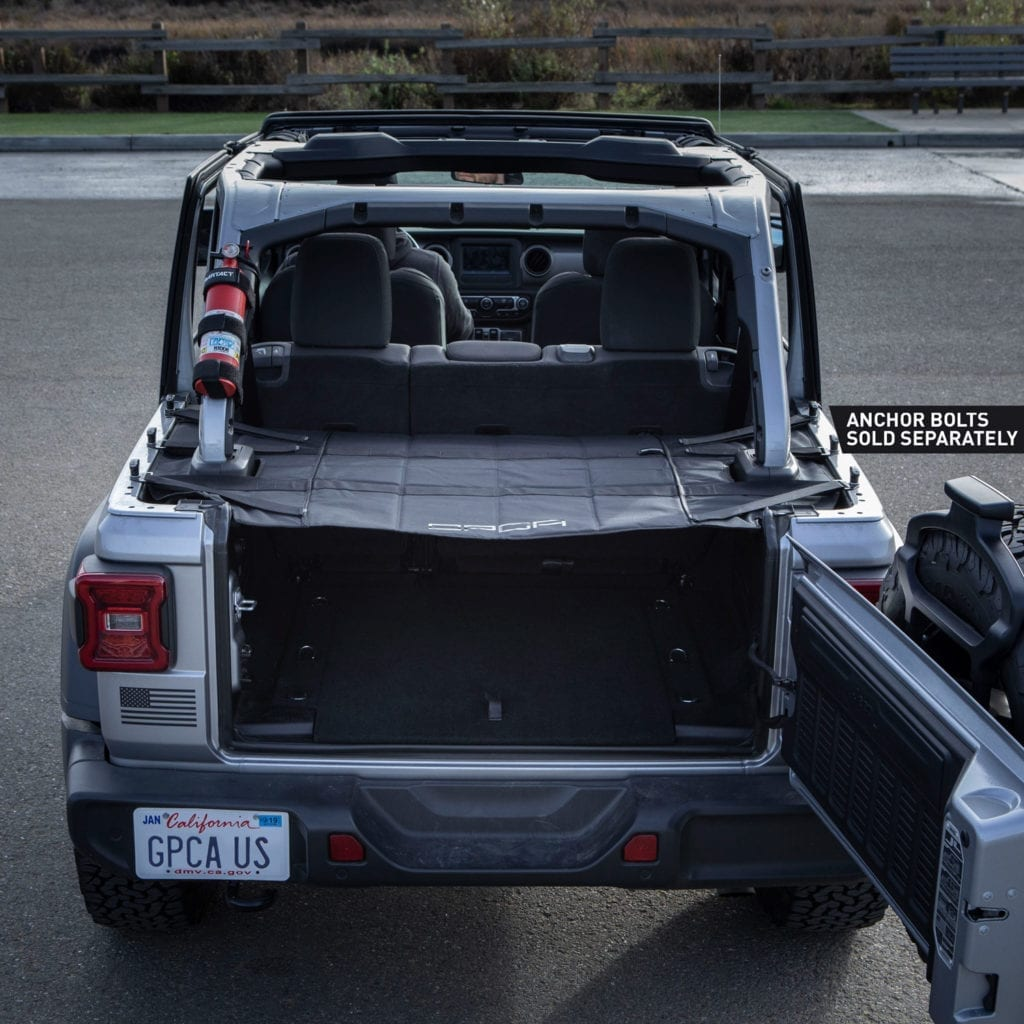 Jeep Wrangler For Sale Bay Area: GPCA Jeep JL Cargo Cover Topless Hard Top
