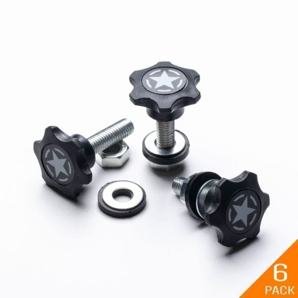 GP-star M8 25mm thumb screw Jeep hard top bolt nut