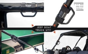 GP-grip lite fiber rack UTV Jeep truck universal foldable handle